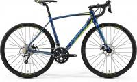 Велосипед Merida CycloCross 300 Petrol (Yellow/Lite Teal) 2019 L(56см)